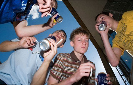 CDC - Fact Sheets-Underage Drinking - Alcohol